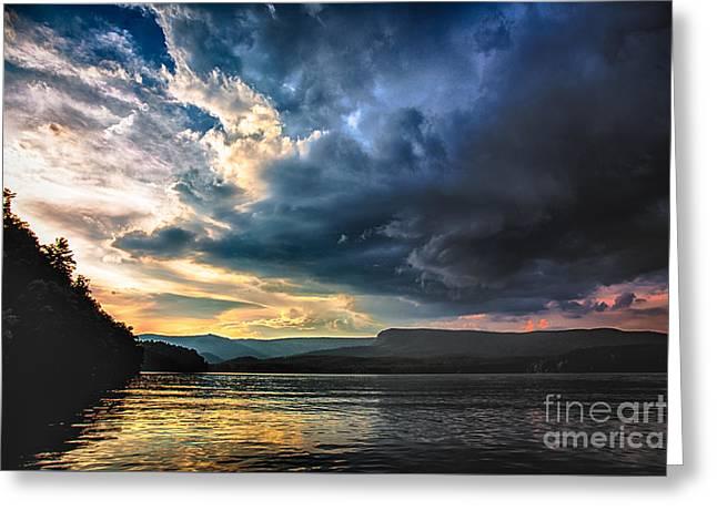 Summer At Lake James Greeting Card