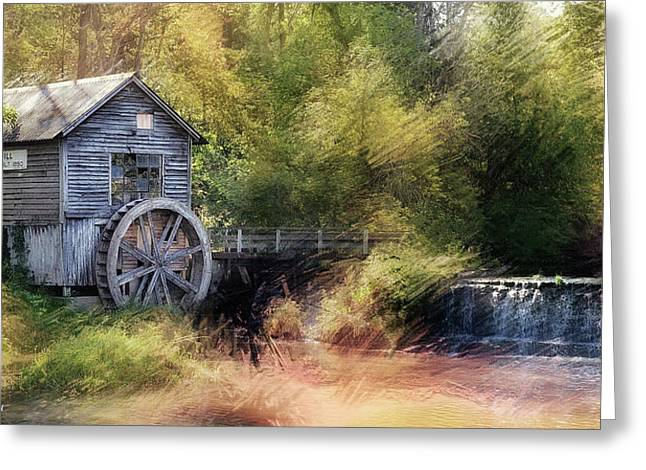 Summer At The Mill Greeting Card