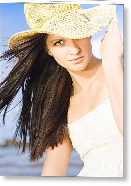 Summer Beauty Greeting Card by Jorgo Photography - Wall Art Gallery