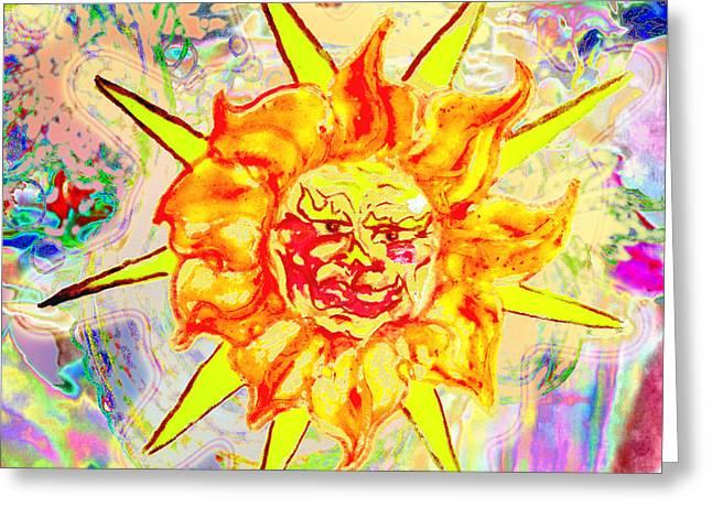 Summer Begins  Greeting Card by Walter Idema