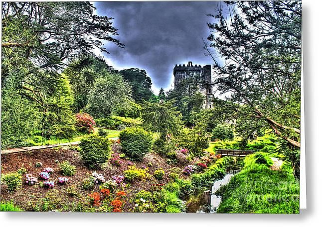 Summer Blarney Garden Greeting Card