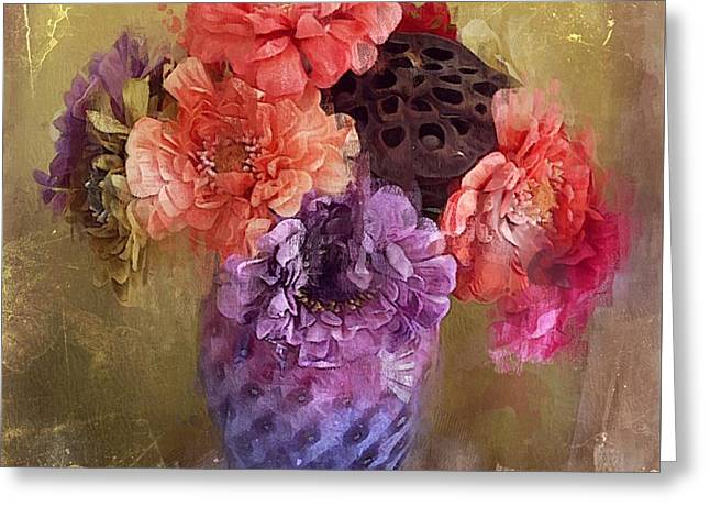 Summer Bouquet Greeting Card by Alexis Rotella