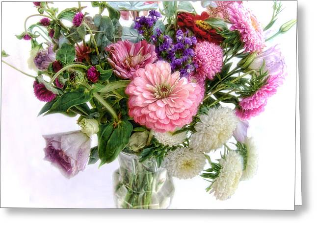Summer Bouquet Greeting Card