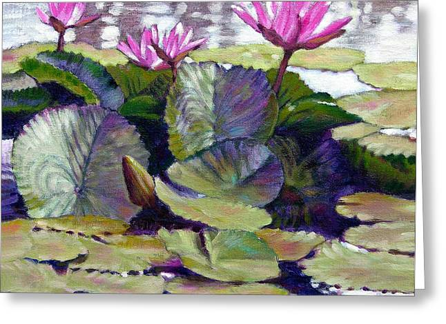 Summer Breeze Greeting Card by John Lautermilch