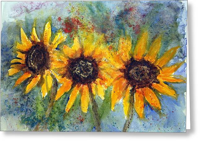 Summer Brilliance Greeting Card