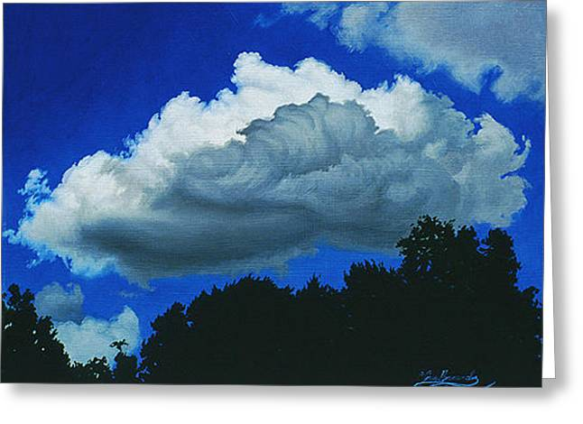 Summer Clouds Greeting Card by Gary  Hernandez