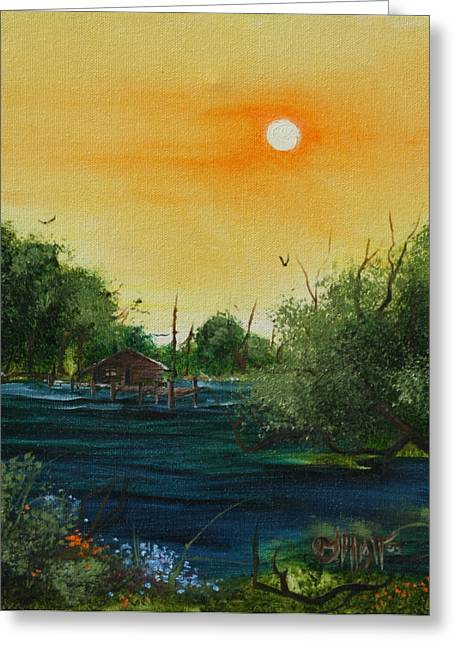 Summer Day At The Lake Greeting Card