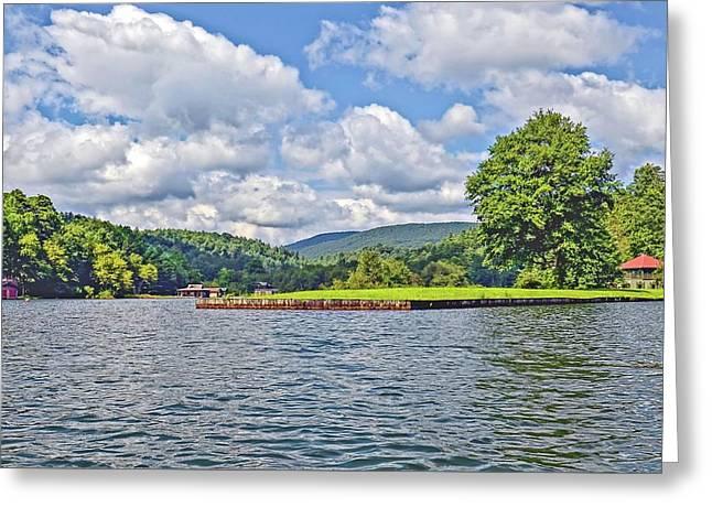 Summer Day At The Lake Greeting Card