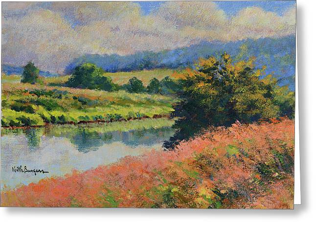 Summer Day Greeting Card by Keith Burgess