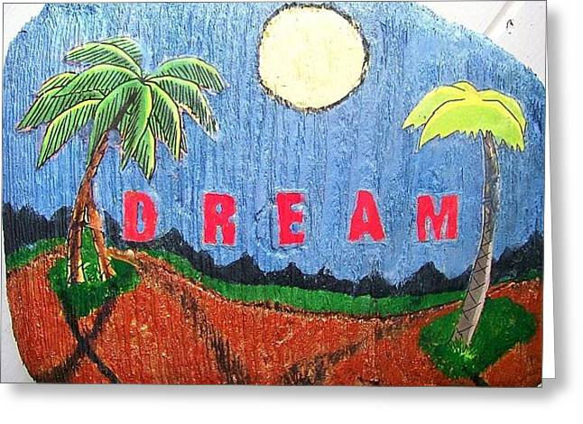 Greeting Card featuring the painting Summer Dream by Jonathon Hansen