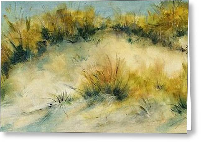 Summer Dunes Greeting Card