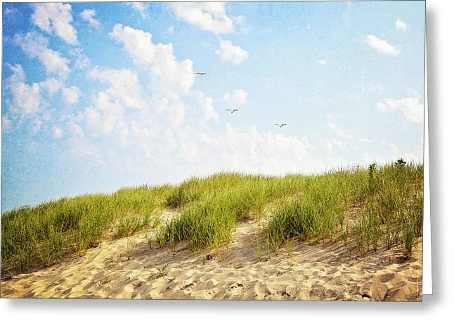 Greeting Card featuring the photograph Summer Dunes by Melanie Alexandra Price