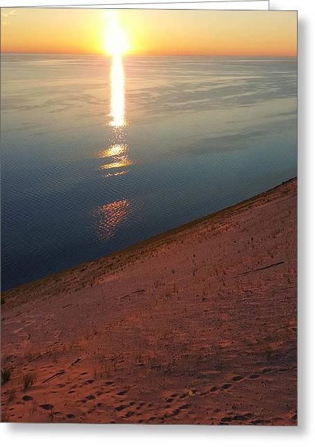 Summer Evening At Sleeping Bear Dunes 02 Greeting Card