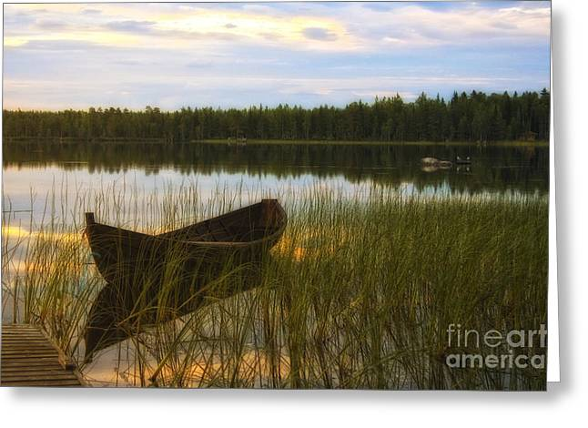 Summer Evening Peace Greeting Card