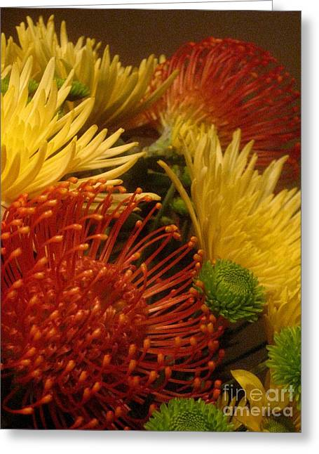 Greeting Card featuring the photograph Summer Floral by Robert D McBain
