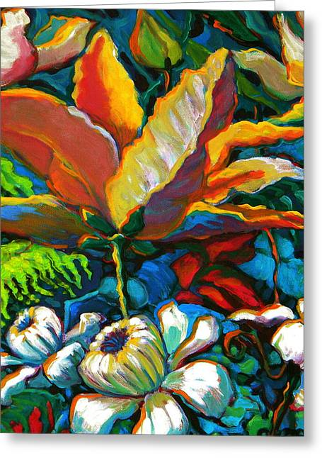 Summer Florals Greeting Card by Jeanette Jarmon