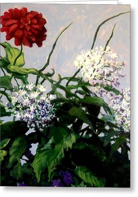 Summer Flowers 1 Greeting Card