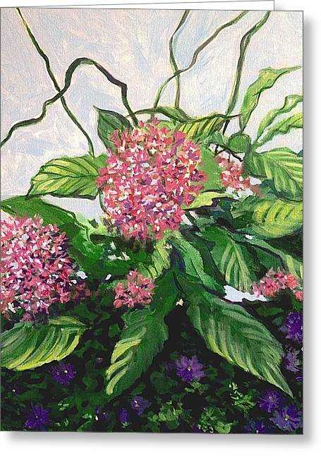 Summer Flowers 2 Greeting Card