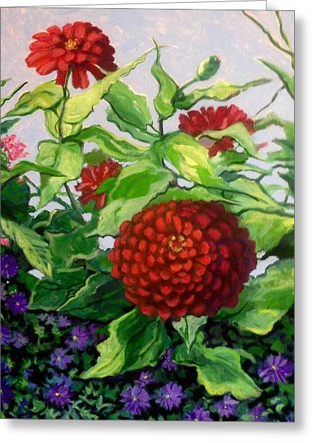 Summer Flowers 3 Greeting Card