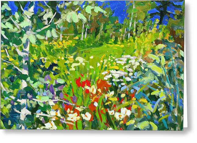 Summer Flowers Greeting Card by Brian Simons