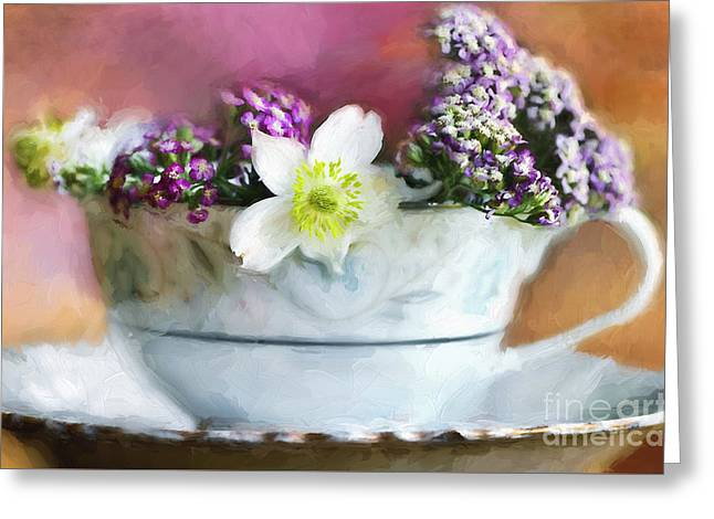 Summer Fragrance Greeting Card by Darren Fisher