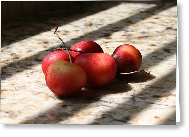 Summer Fruit Greeting Card by Sherry Klander
