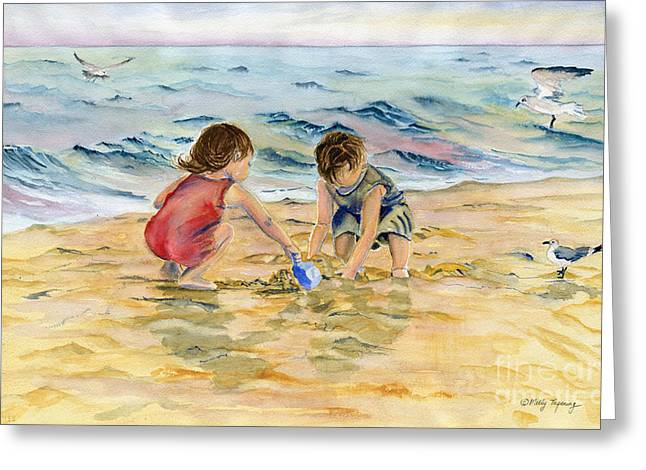 Summer Fun Greeting Card by Melly Terpening