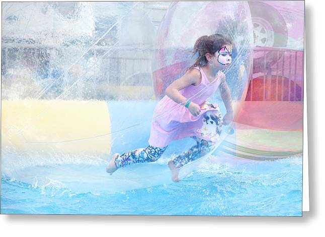Summer Fun Greeting Card by Theresa Tahara