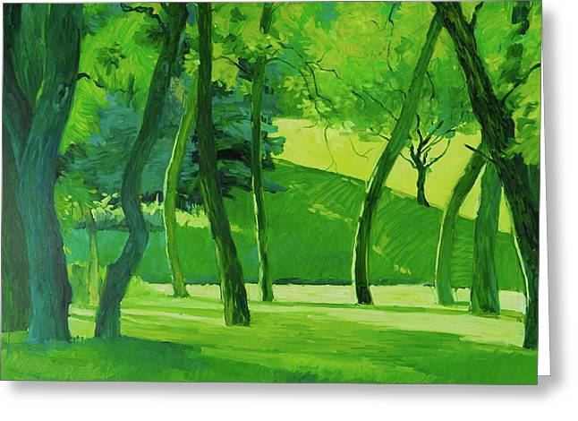 Summer Green Greeting Card