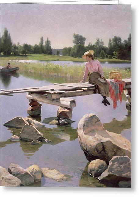 Summer Greeting Card by Gunnar Berndtson