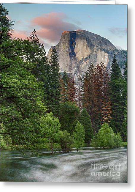 Summer Half Dome  Greeting Card