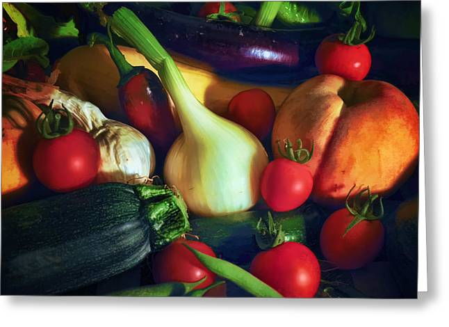 Summer Harvest Greeting Card by Karl Fritz