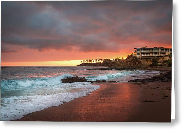 Summer Heat Laguna Beach Greeting Card by Seascaping Photography
