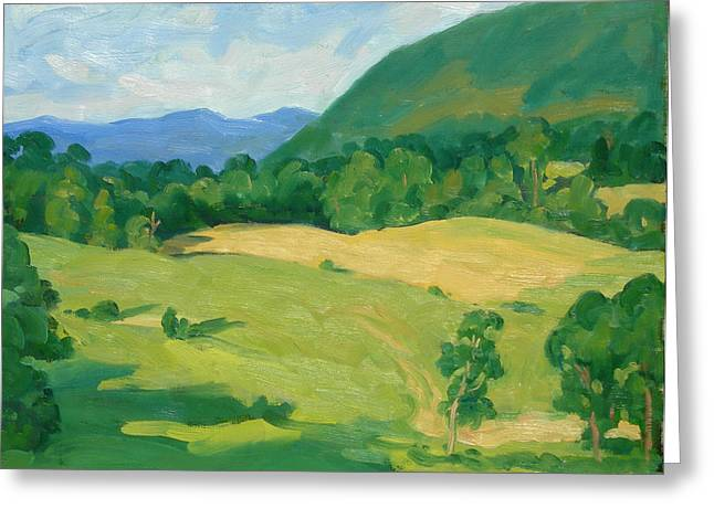 Summer Idyll Berkshires Greeting Card by Thor Wickstrom