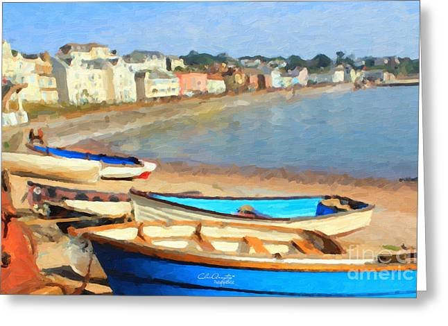 Summer In Dawlish Greeting Card