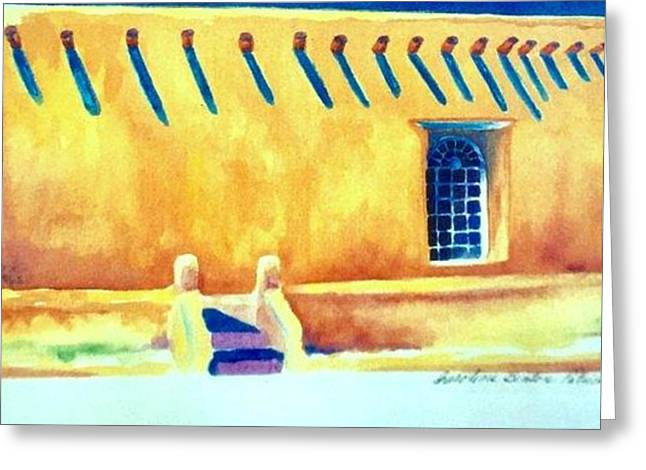 Summer In Taos Greeting Card