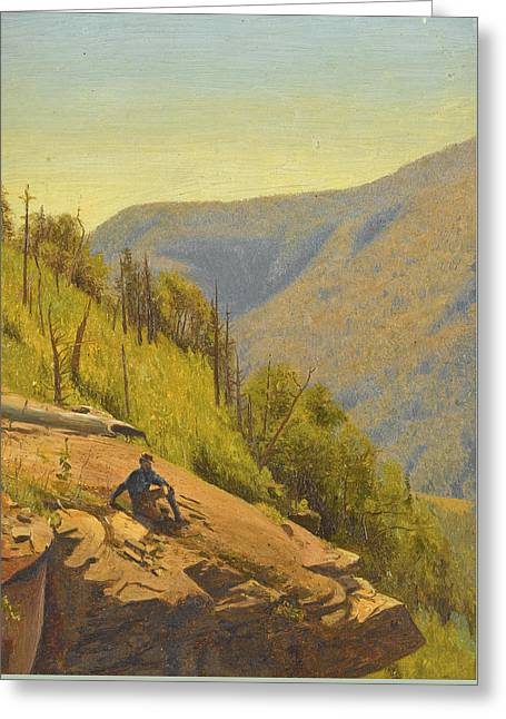 Summer In The Hills 2 Greeting Card by Jervis McEntee