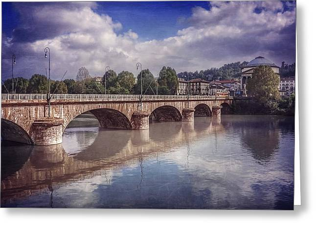 Summer In Turin  Greeting Card by Carol Japp