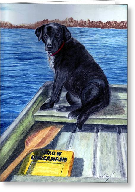 Summer Greeting Card by Kathleen Kelly Thompson