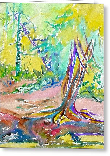 Summer Light Greeting Card by Patricia Bigelow