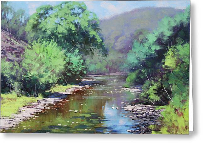 Summer Light Williwa Ck Greeting Card