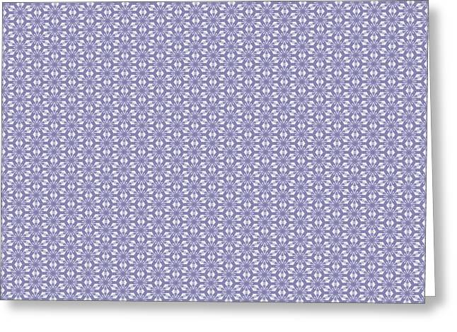 Summer Lilac Lace Greeting Card