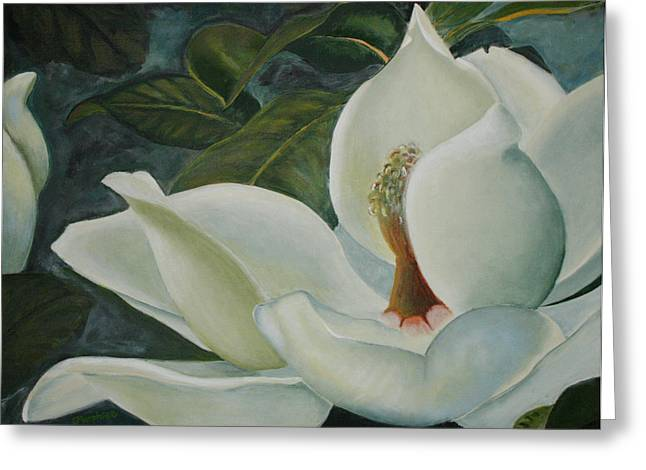 Summer Magnolia Greeting Card