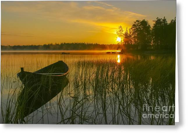 Summer Morning At 3.15 Greeting Card