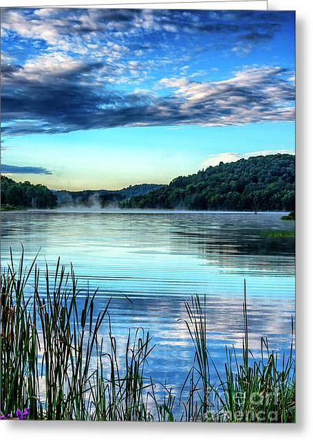 Summer Morning On The Lake Greeting Card by Thomas R Fletcher