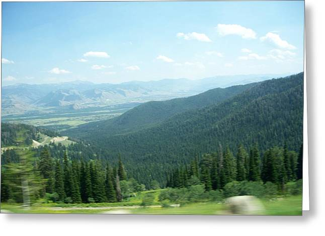 Summer Mountain Greeting Card