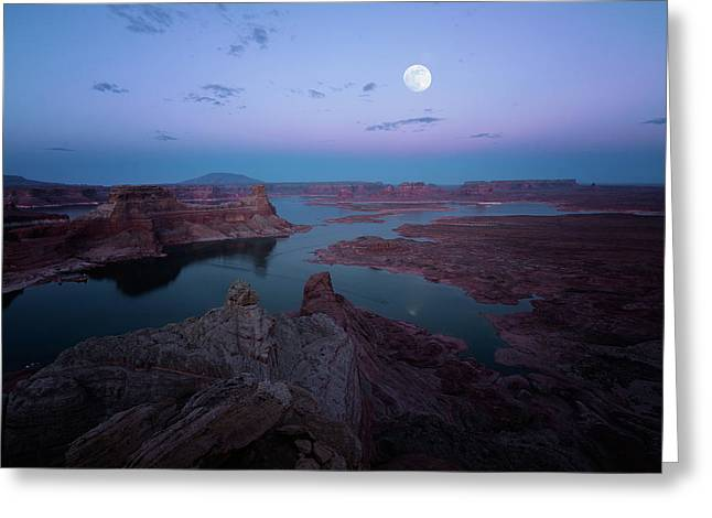 Greeting Card featuring the photograph Summer Night by Edgars Erglis