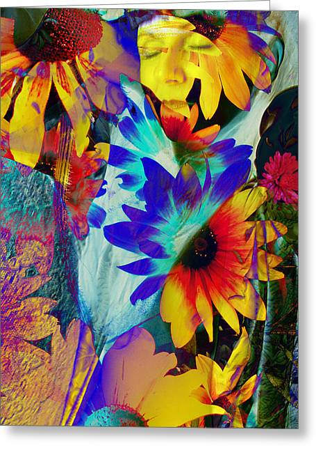Summer Of Love Greeting Card by Patric Carter