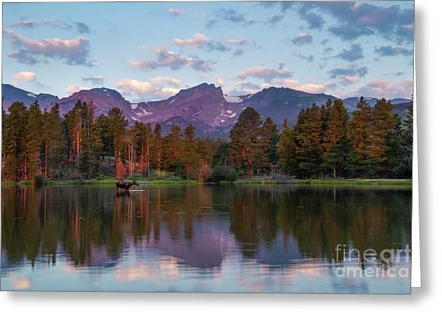 Summer On Sprague Lake Greeting Card
