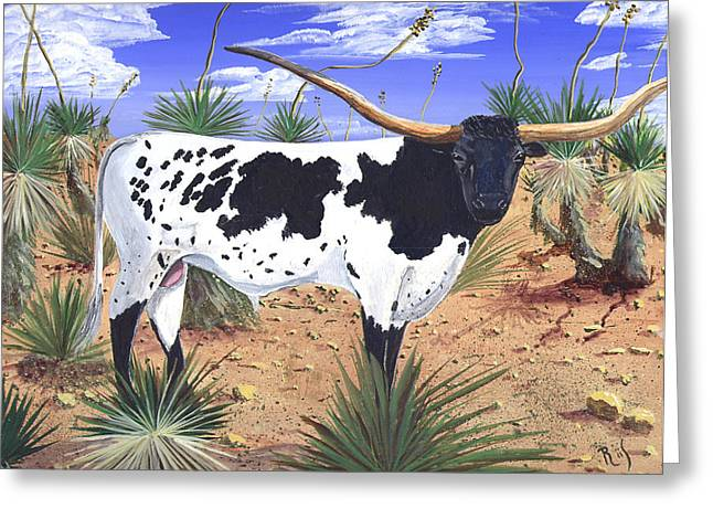 Summer On The High Mesa Greeting Card by Dan RiiS Grife